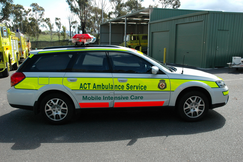 act ambulance service vehicles. Black Bedroom Furniture Sets. Home Design Ideas